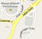 How to go to Hentian Duta Express Bus Terminal, Kuala Lumpur? Live Area Map, Roads and Directions