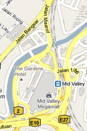 How To Go To Mid Valley Megamall, Kuala Lumpur? Live Area Map, Roads and Directions