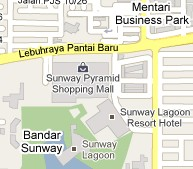 How To Go To Sunway Pyramid, Bandar Sunway, Petaling Jaya? Live Area Map, Roads and Directions