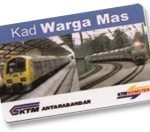 KTM Komuter – Ticket Type – Senior Citizen Card (Kad Warga Emas)