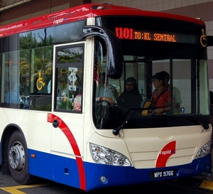 Public Bus Services To Mid Valley Megamall