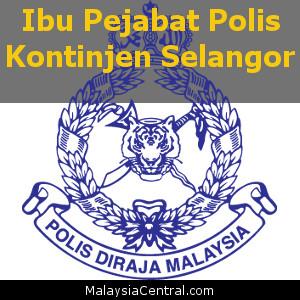 Ibu Pejabat Polis Kontinjen Selangor, PDRM (Contact, Map, Directions)