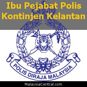 Ibu Pejabat Polis Kontinjen Kelantan, PDRM (Contact, Map, Directions)