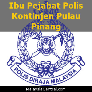 Ibu Pejabat Polis Kontinjen Pulau Pinang, PDRM (Contact, Map, Directions)