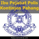 Ibu Pejabat Polis Kontinjen Pahang, PDRM (Contact, Map, Directions)
