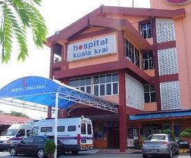 Hospital Kuala Krai – Government Hospital in Kuala Krai, Kelantan, Malaysia
