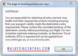 How To Book AirAsia Flight Ticket Online - Step 2