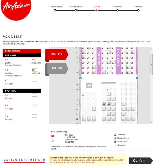 How To Book AirAsia Flight Ticket Online - Step 5