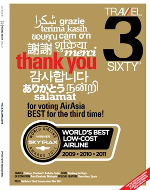 Travel 3Sixty (August 2011 Edition) - FREE Download AirAsia's Inflight Magazine