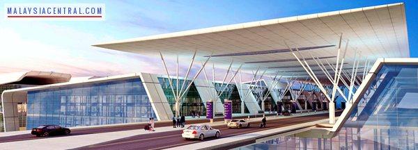 KLIA 2 Gateway airport entrance