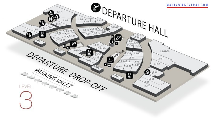 Klia 2 Airport A Huge Shopping Mall What Can You Shop There on Coffee Shop Floor Plan