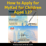 How to Apply for MyKad for Children Aged 12