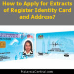 How to Apply for Extracts of Register Identity Card and Address