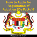 How to Apply for Registration of Adoption (De Facto)?