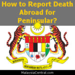 How to Report Death Abroad for Peninsular?