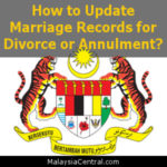 How to Update Marriage Records for Divorce or Annulment?