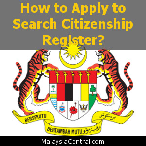 How to Apply to Search Citizenship Register