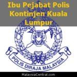 Ibu Pejabat Polis Kontinjen Kuala Lumpur, PDRM (Contact, Map, Directions)