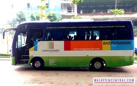 Bangsar South FREE Shuttle Bus Service