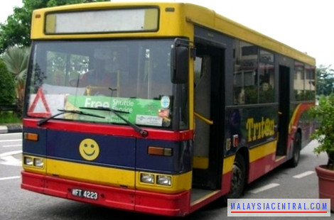 Mid Valley free shuttle bus