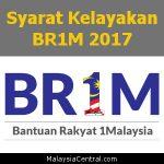 Syarat Kelayakan BR1M 2017