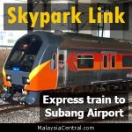 KTM Skypark Link Route, Timetable, Schedule, Price, Fare, Line, Terminal